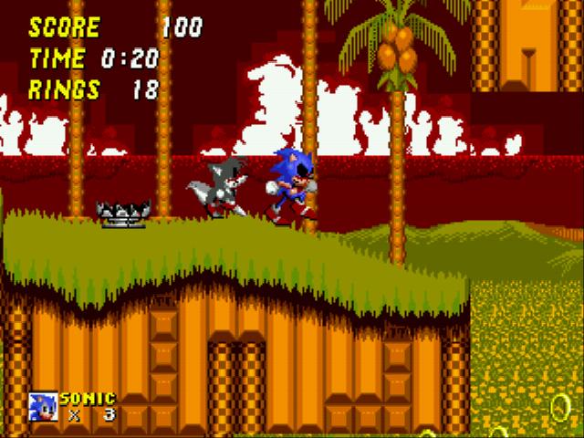 Play Sonic 2 Exe Online Sega Genesis Classic Games Online