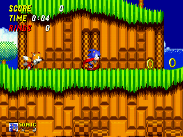 Play Sonic 2 Reversed Frequencies Online
