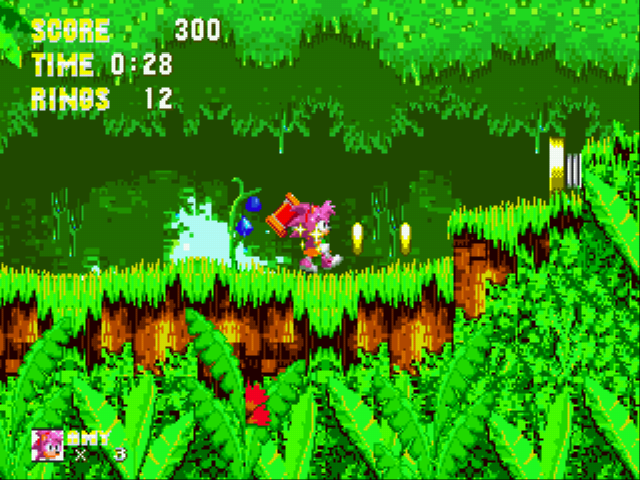Play Sonic 3 & Amy Rose Online
