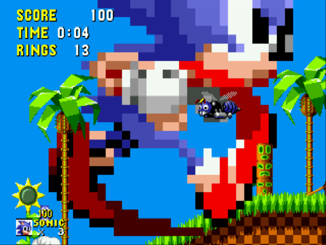 Play Sonic Mega Mushroom Edition Online