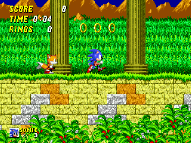 Play Sonic The Hedgehog 2 (Simon Wai Prototype) Online