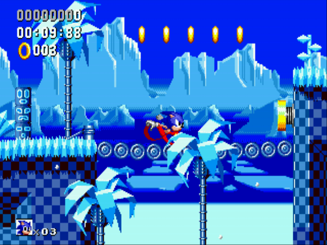 Play Sonic Winter Adventures (beta) Online
