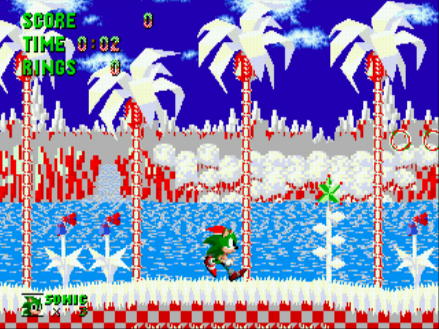 Sonic Christmas.Play Sonic The Hedgehog Christmas Edition Online Play