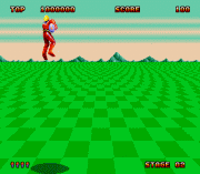 Play Space Harrier II (Launch Cart) Online
