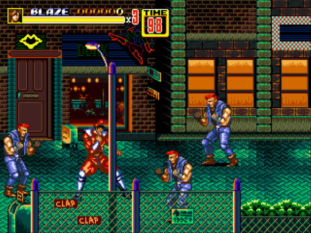 Play Street Fighter 2 of Rage Online