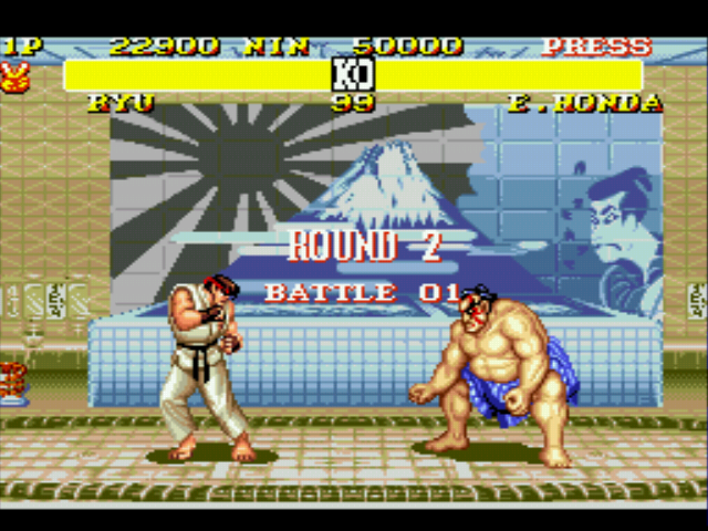 Play Street Fighter II Turbo (beta) Online