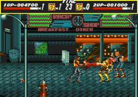Play Streets of Rage Online