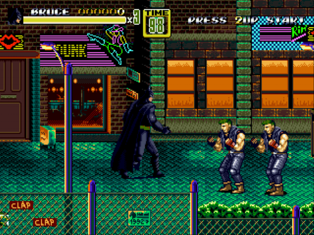 Play Streets of Rage 2 – DC Comics Heroes Edition Online