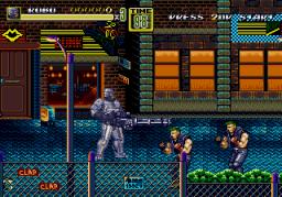 Play Streets of Rage 2 – Robocop & ED-209 Online