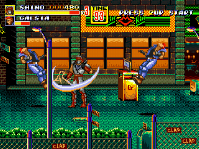 Play Streets of Rage 2 – Shinobi Edition Online