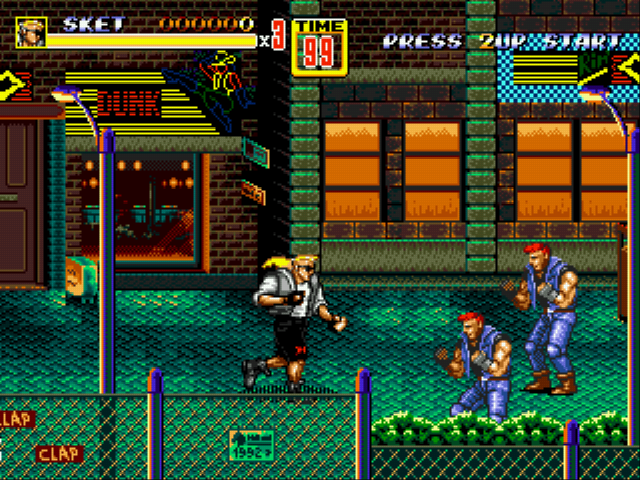 Play Streets of Rage 2 – Sketch Turner Online