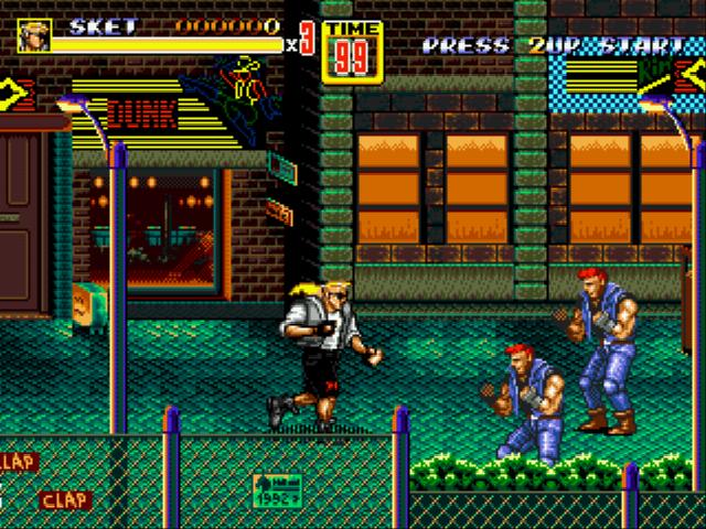 Play Streets of Rage 2 – Sketch Turner Online