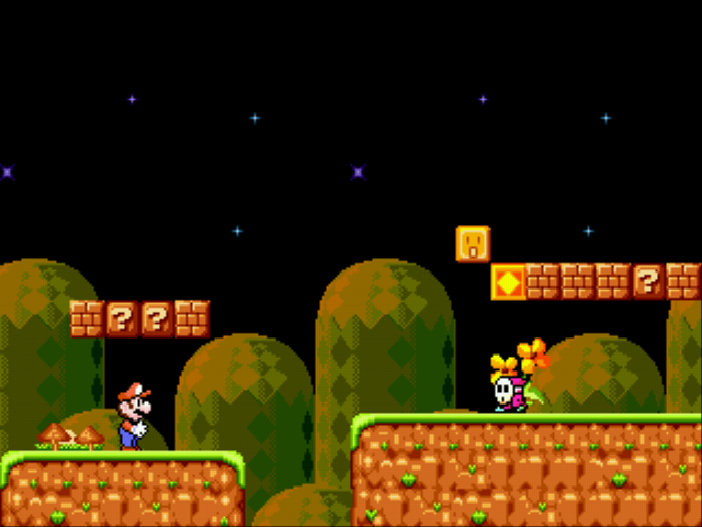 Play Super Mario 4 – Space Odyssey Online