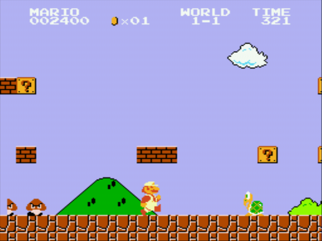super mario online original