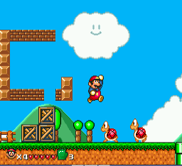 Play Super Mario World (hack) Online