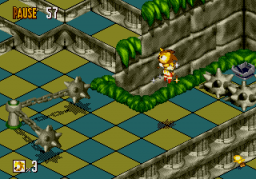 Play Super Sonic in Sonic 3D Online