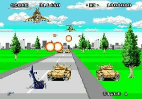 Play Super Thunder Blade Online