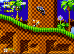 Play Tails in Sonic the Hedgehog Online