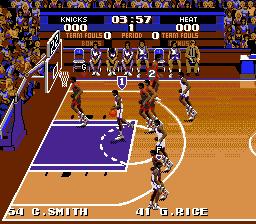 Play Tecmo Super NBA Basketball Online