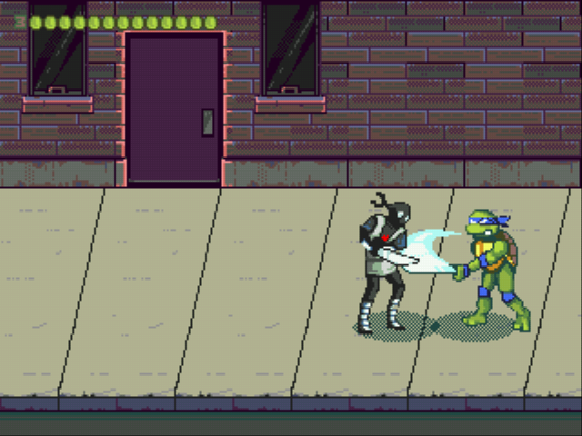 Play Teenage Mutant Ninja Turtles – The Legend Returns Online