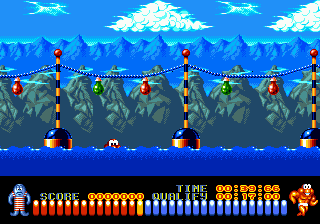 Play The Aquatic Games Starring James Pond and the Aquabats Online