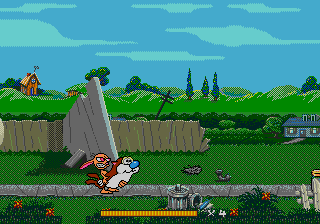 Play The Ren and Stimpy Show Presents Stimpy's Invention Online