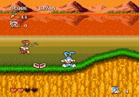 Play Tiny Toons- Busters Hidden Treas Online