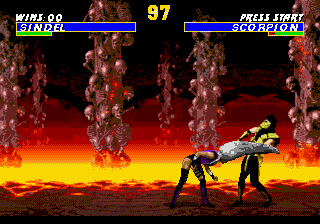Play Ultimate Mortal Kombat 3 Online Play Sega Genesis Mega