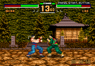Play Virtua Fighter 2 Online